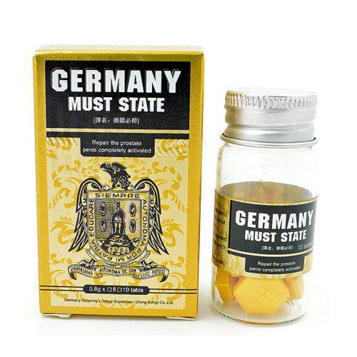 「德國必邦」正品副作用低壯陽補腎,10粒裝購買進口品4