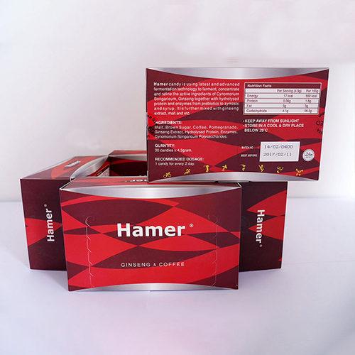 「汗馬糖」馬來西亞進口悍馬糖Hamer candy補充精力延時助勃4